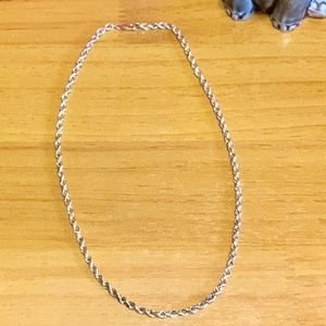14kt 3mm rope chain (REAL GOLD)